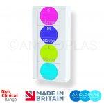 GD4-NC Quad Glove Box Dispenser - NON Antimicrobial