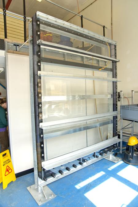 Sediment Test Tank for Southampton University