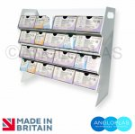Suture-4S-482-425-160 Rack/Dispenser - Portable/Trolley Mount - No Compartments