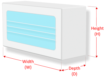 Mask front dispensing diagram