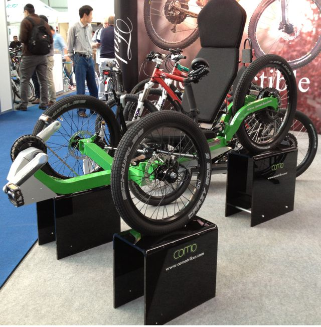 Como Trikes display stands
